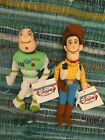 Disney Beanies Buzz Lightyear and Woody 1990 Toy Story Collectible Excellent!
