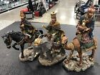 Bombay Company 3 Kings Wise Men Camel Elephant Horse 15 Large Nativity