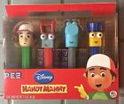 Pez Candy Disney Handy Manny Collector's Series Toolbox Set Limited NEW SEALED