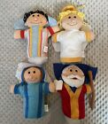 Oriental Trading Nativity Christmas Hand Puppets Set Of 4 New