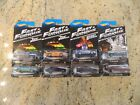 Set of 8 Hot Wheels Fast  Furious Official Movie Merchandise Series
