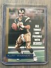 Kurt Warner Cards, Rookie Cards and Autographed Memorabilia Guide 14