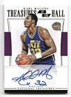 2015-16 National Treasures of the Hall KARL MALONE Autograph AUTO Serial #d 25