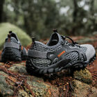 Mens Large Size Hiking Sports Shoes Athletic Outdoor Casual Non slip Sneakers