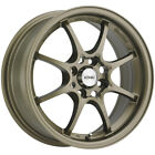4 Konig 72BZ Helium 15x65 4x100 +40mm Bronze Wheels Rims 15 Inch