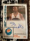 Topps Seattle Children's Hospital Exclusive Autograph Auto Signed Gary Payton