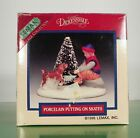 Lemax Christmas Village Accessory PUTTING ON SKATES EUC in Box Dickensvale