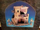 Fontanini HOME 5 RETIRED Nativity Set Village 50523 BUILDING Heirloom RARE
