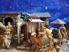 Fontanini THE THREE KINGS on Animals Nativity Set Wisemen 5 Heirloom Collection