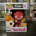 Funko Pop! Freddy Funko Cuphead Red Devil 2018 SDCC Exclusive With Protector