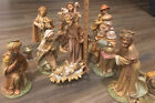 Euromarchi 15 Piece Nativity Scene Large 8 12 Molded Polyresin Figures