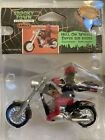 New Lemax Spooky Town Halloween Village HELL ON WHEELS Devil on Motorcycle 92612