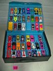 1983 Mattel HOT WHEELS 48 Car Collectors Carrying Case Filled with Cars