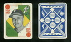 1951 Topps Blue Backs Baseball Cards 56