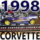 1998 Chevrolet Corvette Official Indianapolis Pace Car Diecast Model Scale 125