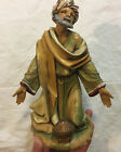 Fontanini 12 Nativity 1983 Wise man King Figure Excellent Condition F02