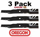 3 Pack Oregon 598 672 G5 Gator Mulcher Blade for Cub Cadet 742 0677 942 0677 54