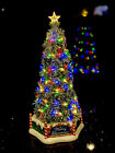 "RARE Exclusive LEMAX MAJESTIC Christmas Tree Sights & Sounds NIB 13.5"" Village"