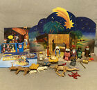 Playmobil Christmas Set 3367 Childrens Nativity Set Figure Lot