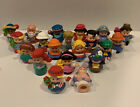 Lot of 20 Fisher Price Little People Figures Ariel Nativity Baby Circus Pirate+
