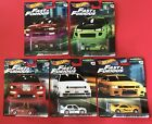 Hot Wheels Fast and Furious Original Fast series one case of 2 sets 10 cars