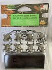 New Lemax Spooky Town Halloween Village 8 LIGHTED SKULL STRING Set #54308
