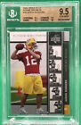 AARON RODGERS 2005 Upper Deck Rookie Premiere #16 🏦 BGS 9.5 🏦 PSA 10 ?