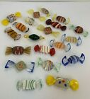 20 Vintage Murano Italy Hand Blown Hand Painted Glass Candy
