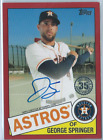George Springer Autographs Added to 2014 Topps Products 14
