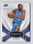 Kevin Durant 125 2008-09 Upper Deck Exquisite Collection Base Card #29 Thunder