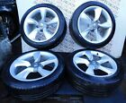 VAUXHALL ASTRA GTC 09-16 SET OF ALLOY WHEELS + TYRES 19 INCH 13312751 AAC6