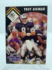 1995 TROY AIKMAN KENNER STARTING LINEUP CARD RARE!  🔥