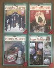 4 NEW Donna Dewberry One Stroke Book Christmas Time At Home Merry Happy Holidays