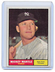 Mickey Mantle Topps Cards - 1952 to 1969 52