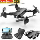 GPS Drone with 4K HD Camera 5G WIFI FPV Folding RC Quadcopter Follow Me