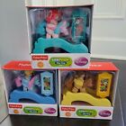 Lot of 3 Fisher Price Little People Disney Princesses Klip Klop Play Sets NEW
