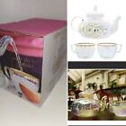 Root7 GTea Rainbow Glass Cocktail Set Teapot Infuser  Cups Gift Boxed Set NEW