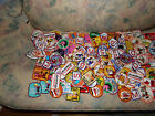 Lot of 100 Vintag Emboidered Patches Perfect for Flea Markets