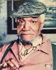 Redd Foxx Sanford And Son Signed color 8 x10 PSA Authenticated DECEASED