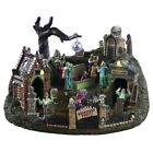 Lemax Spooky Town Graveyard Party RARE NIB Halloween Village Sights & Sounds