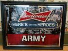 Budweiser Proud To Serve Those Who Serve Army Man Cave Wall Art 205x265