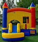 Commercial Inflatable Bounce House Rainbow Wet Dry Slide 100 PVC Pool NO Blower