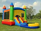 Commercial Inflatable Bounce House Fiesta Wet Dry Slide 100 PVC Pool  Blower