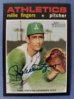 Rollie Fingers 2020 Topps Heritage Auto Autograph Card