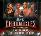 2015 Topps UFC Chronicles 6 Box Factory Sealed Case - Mcgregor Rousey AUTOs Memo