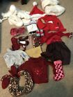 Christmas American Girl Doll Clothes And Accessories Lot