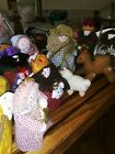 Nativity SetChildrens Set of Soft Sculptures in Carry Bag 11 plush pieces