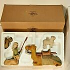 Willow Tree nativity figures Shepherd and Stable Animals DEMDACO
