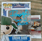 Christmas Vacation Randy Quaid autographed Cousin Eddie added POP JSA CERTIFIED*