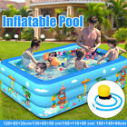 Inflatable Swimming Pool Family Summer Outdoor Play Kids Adult Backyard Garden